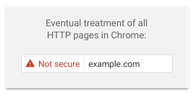 Future changes to how Chrome displays non-SSL websites
