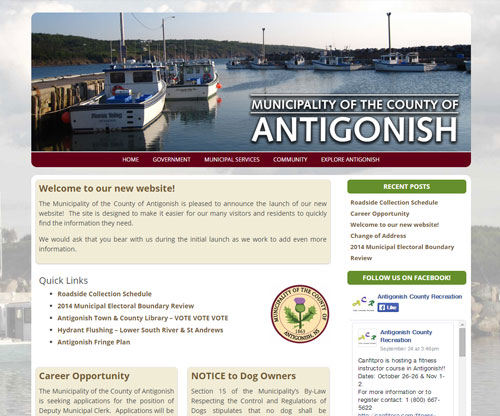 The Municipality of the County of Antigonish