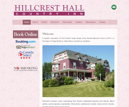 Hillcrest Hall Country Inn