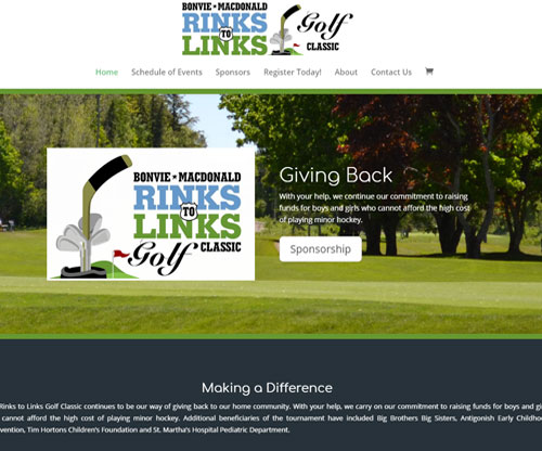 Bonvie MacDonald Rinks to Links