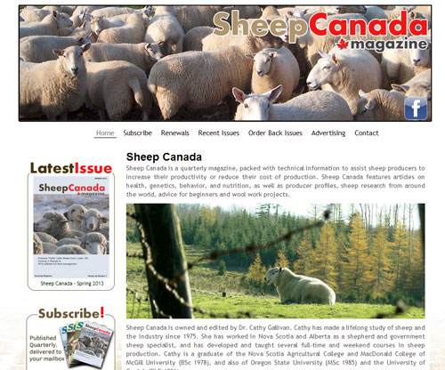 Sheep Canada magazine